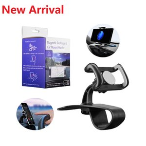 Car Phone Holder In Car Air Vent Mount Stand Magnetic Dashboard Car Mount Mobile Phone Holder Universal Gravity Smartphone Cell Support