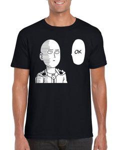 Ok One Punch Man Opm Soka Saitama Anime T-Shirt S-2Xl Funny Design Tee Shirt