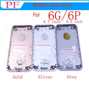 """Neue eine qualität für iphone 6 4.7 """"6g / 6 plus 5,5"""" volle gehäuse zurück batterieabdeckung mittleren rahmen metall ersatzteil"""