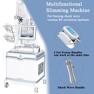 Terapia de onda de choque Equipo de fisioterapia El tratamiento de la máquina de onda de descarga de la disfunción eréctil Cavitación Cavitación Cryolipolysis Vacuum RF LIPO LÁSER