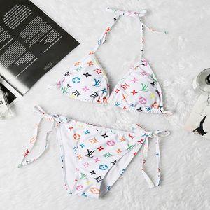 Мода 4 стиля дизайнер бикини роскошь письмо женщины купальники пляж в купальнике бандаж сексуальные купальники сексуальный коврик буксир-штука
