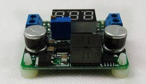5V-25V LM2577 LM2596 DC DC Buck Boost Converter avec LED d'affichage et de sortie ajustable, réglementé module d'alimentation