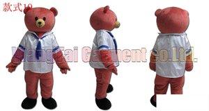 marinheiro fantasia de mascote urso frete grátis tamanho adulto, terno mascote urso de pelúcia boneca de brinquedo carnaval anime filme mascote clássico dos desenhos animados