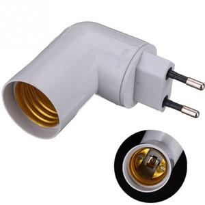 ON / OFF Anahtarı Soket Adaptörü Vida Dönüştürücü E27 Ampul ile E27 Bankası Soket Çevirici Splitter Lamp Holder AB fiş PP
