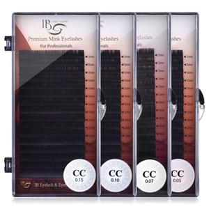 I Beauty Einzellänge 9mm-16mm Einzelwimpernverlängerung 0,05 Dicke Echt Mink Wimpern CC Volume Lashes IB 1pcs