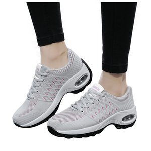Fashion women sneakers Mesh Casual Thick Bottom Rocking platform shoes Student Working Outdoor Sports Running Shoes for women
