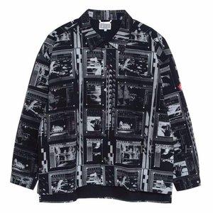 Mens Designer T Jackets Fashion Brand CE SHIRT JACKET Ghost Hand Photo Printing Jacket Women Shirt Casual High Street
