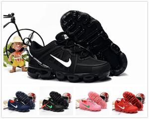 2019 del capretto del bambino Kpu Knitting VM bambini portatili scarpe da corsa dei bambini 2018 pattini dell'ammortizzatore di sport delle ragazze dei ragazzi di formazione Sneakers