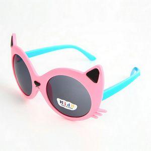 childrens occhiali da sole per il capretto lunettes de soleil bebe argento di plastica a forma di cuore Telaio Occhiali da sole per bambini occhiali da sole hairclippersdesign