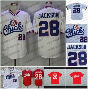 28 Bo Jackson Memphis Chicks Beyaz Kırmızı Beyzbol Forması En Kaliteli Dikişli Hızlı Kargo Boyutu S-XXL