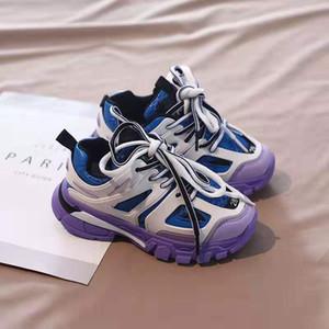 Tênis de bebê menino esporte trainer tênis para menino menina vestido 2020 novos sapatos de moda para a menina trainers escola de futebol da UE 26-37