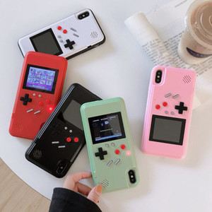 Für iPhone11 pro max. 6 7 8 8Plus XS XR Silica-Handyhäuser Schutzfarbbildschirm mit Game Player Classic
