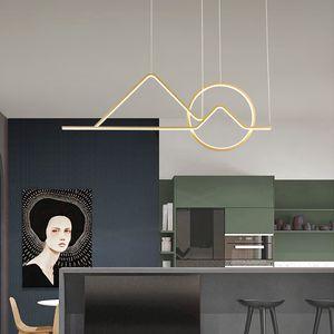 Verllas Black Gold Modern Chandelier di illuminazione a soggiorno pranzo Sospensione apparecchi Lampadari Luster pendente di Avize LED