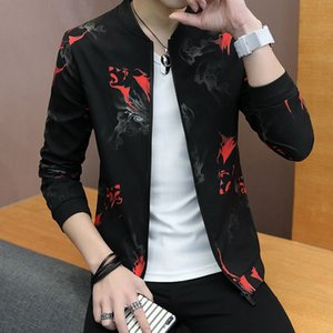 2020 New Spring Summer Mens Fashion Outerwear Windbreaker Men' S Thin Jackets Hooded Casual Sporting Coat Big Size
