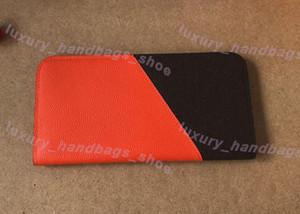 Hot Magnetic Snap-Fit zentrale Tasche Geldbörsen Designer Frauen Original Leder Brieftasche Lady Ladies die stilvollste Art, Geld herumzutragen