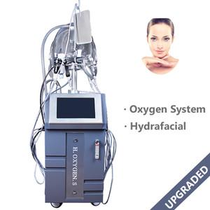 China Verjüngungs-Facelift-Maschine Lieferanten China Ultraschallhaut-Schälmaschine 10 behandelt Hydra-Gesichtssauerstoffmasken-Hautpflege-Ausrüstung