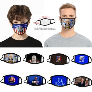 adult man the usa fredom cartoon cross-border Biden mask dust-proof fashion 3D printed ice silk fabric can be washed to support custom vote