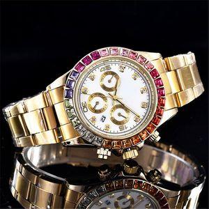 2019 Cristallo nuovo tag piena di diamanti marchio di moda le donne orologio di design strass Bracciale signore orologi d'oro orologio in acciaio inox regalo Ragazza