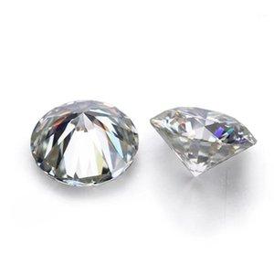 D Blanco Color de VVS forma redonda suelta sintético Moissanite diamante 0.6CT a 2CT Excelente Cut1