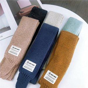 Kinderschal-Jungen-Mädchen-Baby-Winter-warmer Schal-Frauen Knit-Schal-Schal Kinder Halsband warm halten Zubehör Günstige Eltern