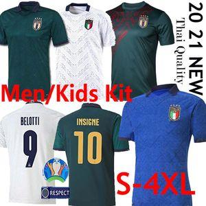 Thai 2020 2021 ITALY Europa-Cup Fußball Jersey 19 20 TOTTI La Palla di calcio tedesco Jorginho EL Shaarawy BONUCCI INSIGNE Uniform S-4XL