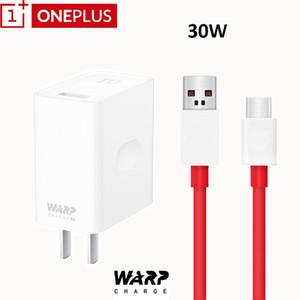 Оригинал One Plus Warp Charge 30 Вт тире зарядное устройство адаптер с типом C кабельный комплект для One Plus 7 Pro 1+ 3/3T / 5 / 5T/6 / 6T