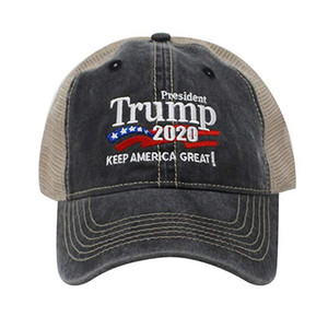 Hot High Quality American Presidential President Trump Camouflage Baseball Cap trump 2020 Hat Embroidery Print Baseball Cap Ball Caps A1012