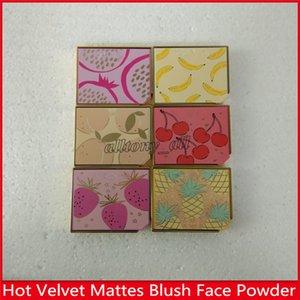 2019 Makeup Fitted Tutti Frutti 과일 칵테일 블러쉬 듀오 스트로 빙 브론저 하이라이트 듀오 바나나 크림 파우더 6 색 무료 배송