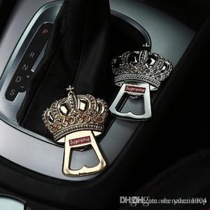 Corona Auto Car specchio retrovisore Hanging ornamenti interni Ciondolo portachiavi decorazione regalo Accessori creativo per le donne Beer Bottle Opener