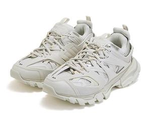 2019 Moda Tasarımcısı Parça Tess S 3.0 Erkek Yürüyüş Ayakkabıları Kadın beyaz Turuncu Mavi Pembe Clunky Rahat Sneaker Ayakkabı Baba Ayakkabı Chaussures