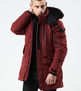 2019 Winter Designer Mantel Herren Long Fashion Bekleidung Kapuze Dicke Winddichte Luxus Jacke Herren Jugend Warmer Mantel