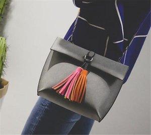 Explosive Designer- Womens Borse Frange pieghevole ricreativo singola spalla del sacchetto di modo del sacchetto della ragazza all'ingrosso inclinato caldo di trasporto libero