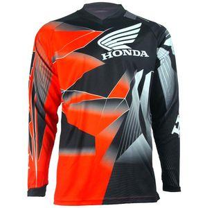 New Troy Lee disign moto manches longues maillot de descente hors-piste de course costume HONDA course de moto hors route T-shirt