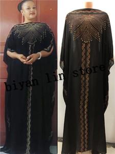 Il nuovo modo veste Bazin Stampa Dashiki Donne lunga cresciuta modello Yomadou colori sovradimensionato