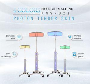Nouvelle arrivée! LED luminothérapie feu vert jaune bleu rouge thérapie photon hap machine équipement de beauté soins de la peau