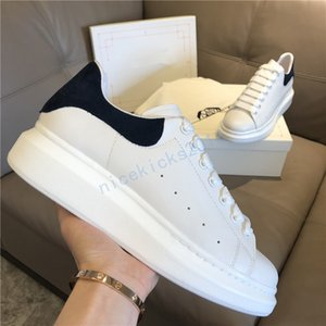 39 colors Men Casual Shoes Womens Laser Velvet Leather Trainers Oversized Sneakers Espadrilles Platform Shoe Flat Chaussures
