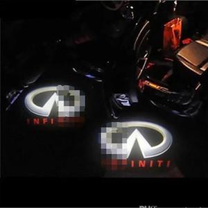 Car Projection Projecteur LED Porte Ombre lumière Infiniti 1 min Installation facile Logo HD Porte voiture Pack 2 Courtoisie Laser extern