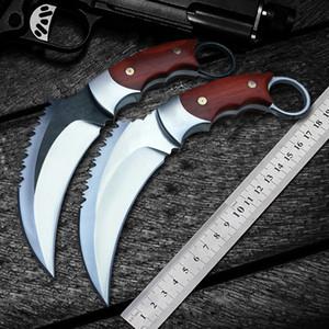 coltello da combattimento tattico Karambit CS GO outdoor autodifesa high-end DC53 acciaio scorpione coltello artiglio campo sopravvivenza coltelli da caccia