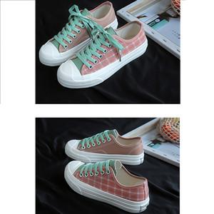 Fashion casual shoes Korean version 2019 new summer Canvas shoes female students Joker ulzzang Harajuku ins Super Fire niche shoes female