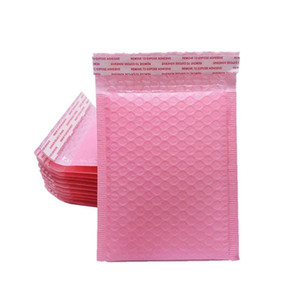 10Pcs Pink Co-extruded Bubble Envelope Bag Bubble Buffer Anti-fall Protection Waterproof Packaging Bag Courier Packageing