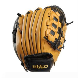 Etto Top Quality Male Professional Left Right Hand Baseball Glove Beisbol Training Sport Glove For Match Softball HOB002Z