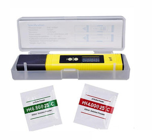 2020 New Protable Digital PH Meter 0.00-14.0 PH Tester for Aquarium Pool Wine Automatic Calibration Water Quality Monitor