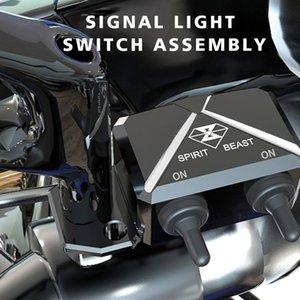 RUH BEAST Motosiklet Anahtarı Modifiye Aksesuar Piaggio için çukur bisiklet Anahtarları Gidon atv ışık Flaşör parçaları scooter