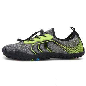 2020 Men Barefoot Five Fingers Shoes Summer Water Shoes for Men Outdoor Lightweight Aqua Fitness Sports Sneakers