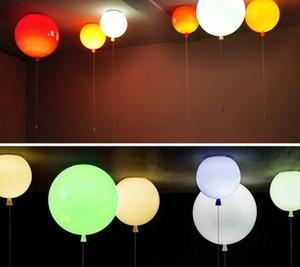 6 Farben Ballon Acryl Anhänger Leuchte home deco Schlafzimmer Kinderzimmer E27 Energiesparlampen Pendelleuchte