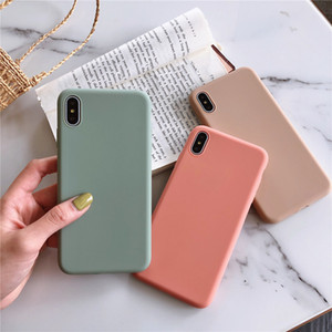 Candy Color Silicone Case For Samsung Galaxy A50 A40 A70 M10 M20 A10 A20 A30 A60 A80 M30 A10E A20E A10S A20S A30S A40S M30 Cover