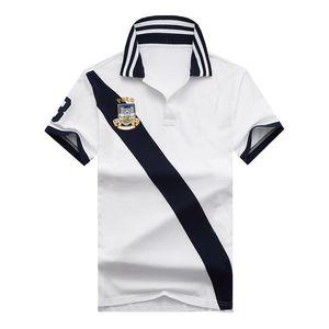 homens de marca de luxo Camisas Casuais de Pólo Ralph Big Pony Bordado RL Racing Espanha Itália Estados Unidos Brasil Argentina Algodão Polos venda a quente