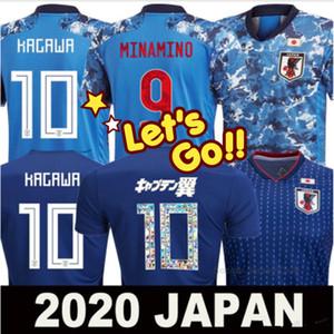 2019 2020 Japonya futbol forması 19 20 karikatür numarası Minamino ATOM Tsubasa Kagawa ENDO Okazaki Nagatomo Hasebe milli takım Futbol Gömlek