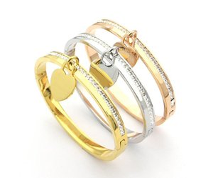 CALIENTE amor manera de la venta pulsera del encanto vierte hommes brazaletes pulsera para hombre y mujeres amantes de la fiesta de bodas regalo de tobillo de la joyería de acero inoxidable