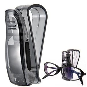 High Qualify 5pcs Hot Car Sun Visor Glasses Sunglasses Ticket Receipt Card Clip Storage Holder 2018 New Arrival Drop ship Other Fashion Acc